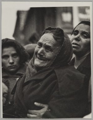Consuelo Kanaga (American, 1894-1978). Fire. Gelatin silver photograph, 5 x 3 7/8 in. (12.7 x 9.8 cm). Brooklyn Museum, Gift of Wallace B. Putnam from the Estate of Consuelo Kanaga, 82.65.22