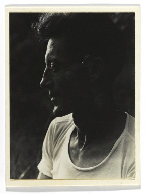 Consuelo Kanaga (American, 1894-1978). [Untitled] (Harvey Zook). Gelatin silver photograph, Image: 3 1/2 x 3 in. (8.9 x 7.6 cm). Brooklyn Museum, Gift of Wallace B. Putnam from the Estate of Consuelo Kanaga, 82.65.252