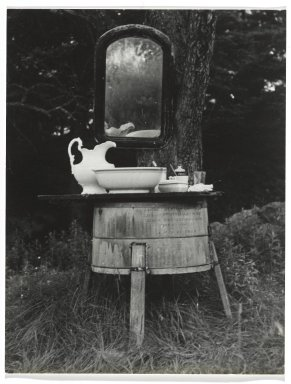 Consuelo Kanaga (American, 1894-1978). [Untitled] (Dishes). Gelatin silver photograph, 4 3/4 x 3 5/8 in. (12.1 x 9.2 cm). Brooklyn Museum, Gift of Wallace B. Putnam from the Estate of Consuelo Kanaga, 82.65.283