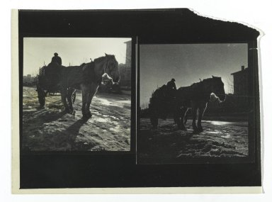 Brooklyn Museum: [Untitled] (Horsedrawn Carriage)