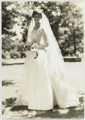 Consuelo Kanaga (American, 1894-1978). [Untitled] (Bride). Gelatin silver photograph, 10 x 7 1/8 in. (25.4 x 18.1 cm). Brooklyn Museum, Gift of Wallace B. Putnam from the Estate of Consuelo Kanaga, 82.65.293