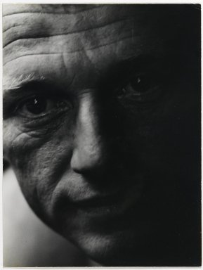 Consuelo Kanaga (American, 1894-1978). [Untitled] (Man). Gelatin silver photograph, 9 3/4 x 7 3/8 in. (24.8 x 18.7 cm). Brooklyn Museum, Gift of Wallace B. Putnam from the Estate of Consuelo Kanaga, 82.65.307