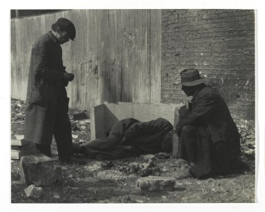 Consuelo Kanaga (American, 1894-1978). Caring for Sick Friend. Gelatin silver photograph, 6 1/4 x 8 in. (15.9 x 20.3 cm). Brooklyn Museum, Gift of Wallace B. Putnam from the Estate of Consuelo Kanaga, 82.65.317