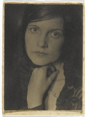 Consuelo Kanaga (American, 1894-1978). May, early 1920s. Toned gelatin silver photograph, Image: 4 x 3 in. (10.2 x 7.6 cm). Brooklyn Museum, Gift of Wallace B. Putnam from the Estate of Consuelo Kanaga, 82.65.328