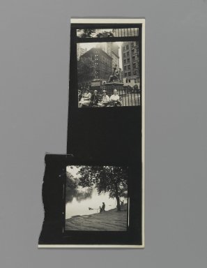 Consuelo Kanaga (American, 1894-1978). [Untitled]. Gelatin silver photograph, 8 x 3 3/4 in. (20.3 x 9.5 cm). Brooklyn Museum, Gift of Wallace B. Putnam from the Estate of Consuelo Kanaga, 82.65.355