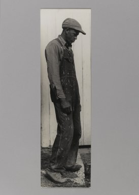 Consuelo Kanaga (American, 1894-1978). [Untitled]. Gelatin silver photograph, 13 1/2 x 4 in. (34.3 x 10.2 cm). Brooklyn Museum, Gift of Wallace B. Putnam from the Estate of Consuelo Kanaga, 82.65.362
