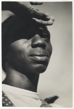 Consuelo Kanaga (American, 1894-1978). Norma Bruce, 1950. Gelatin silver photograph, 11 3/4 x 7 7/8in. (29.8 x 20cm). Brooklyn Museum, Gift of Wallace B. Putnam from the Estate of Consuelo Kanaga, 82.65.365