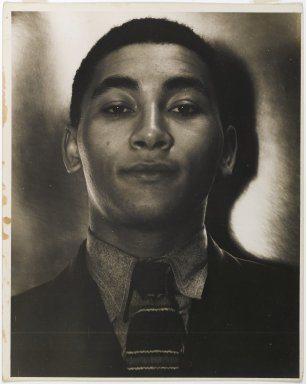 Consuelo Kanaga (American, 1894-1978). Angelo Herndon, 1930s. Gelatin silver photograph, 10 x 8 in. (25.4 x 20.3 cm). Brooklyn Museum, Gift of Wallace B. Putnam from the Estate of Consuelo Kanaga, 82.65.366
