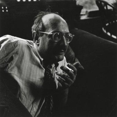 Consuelo Kanaga (American, 1894-1978). Mark Rothko, Yorktown Heights, ca. 1949. Gelatin silver photograph, 10 x 8in. (25.4 x 20.3cm). Brooklyn Museum, Gift of Wallace B. Putnam from the Estate of Consuelo Kanaga, 82.65.367