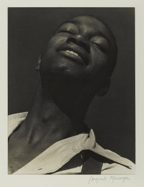 Consuelo Kanaga (American, 1894-1978). Kenneth Spencer, 1933. Gelatin silver photograph, 9 3/8 x 7 1/8 in. (23.8 x 18.1 cm). Brooklyn Museum, Gift of Wallace B. Putnam from the Estate of Consuelo Kanaga, 82.65.368