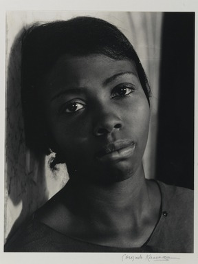 Consuelo Kanaga (American, 1894-1978). Annie Mae Merriweather, 1935. Gelatin silver photograph, 13 1/8 x 10 1/4 in. (33.3 x 26 cm). Brooklyn Museum, Gift of Wallace B. Putnam from the Estate of Consuelo Kanaga, 82.65.379