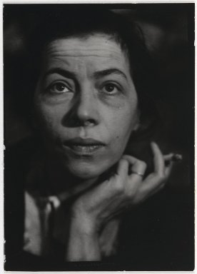 Consuelo Kanaga (American, 1894-1978). [Untitled] (Ray). Toned gelatin silver photograph, Other: 4 1/8 x 3 in. (10.5 x 7.6 cm). Brooklyn Museum, Gift of Wallace B. Putnam from the Estate of Consuelo Kanaga, 82.65.381