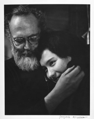 Consuelo Kanaga (American, 1894-1978). W. Eugene Smith and Aileen, 1974. Toned gelatin silver photograph, 9 3/4 x 7 1/2 in. (24.8 x 19.1 cm). Brooklyn Museum, Gift of Wallace B. Putnam from the Estate of Consuelo Kanaga, 82.65.385
