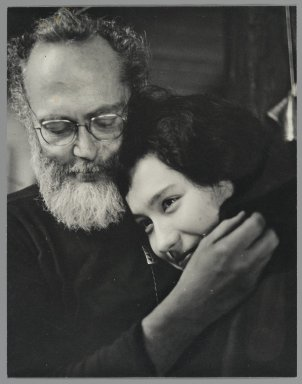 Consuelo Kanaga (American, 1894-1978). [Untitled] (Eugene Smith and Japanese Friend). Gelatin silver photograph, 9 1/2 x 7 1/2 in. (24.1 x 19.1 cm). Brooklyn Museum, Gift of Wallace B. Putnam from the Estate of Consuelo Kanaga, 82.65.423