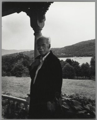 Consuelo Kanaga (American, 1894-1978). [Untitled] (Stieglitz). Gelatin silver photograph, 8 1/4 x 6 1/2 in. (21 x 16.5 cm). Brooklyn Museum, Gift of Wallace B. Putnam from the Estate of Consuelo Kanaga, 82.65.443