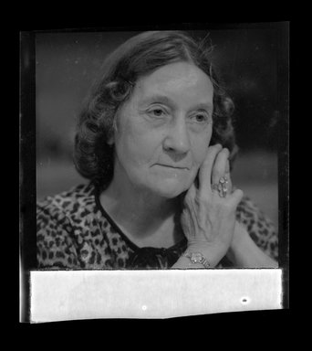 Consuelo Kanaga (American, 1894-1978). [Untitled]. Safety Negative, 2 1/4 x 2 1/4 in. (5.7 x 5.7 cm). Brooklyn Museum, Gift of Wallace B. Putnam from the Estate of Consuelo Kanaga, 82.65.589