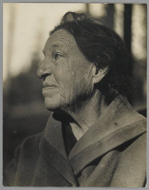 Consuelo Kanaga (American, 1894-1978). Seddie Anderson, ca. 1920s. Gelatin silver photograph, 9 x 7 1/8 in. (22.9 x 18.1 cm). Brooklyn Museum, Gift of Wallace B. Putnam from the Estate of Consuelo Kanaga, 82.65.5