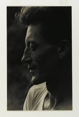 Consuelo Kanaga (American, 1894-1978). Harvey Zook, ca. 1940. Toned gelatin silver photograph, Image: 7 3/4 x 4 7/8 in. (19.7 x 12.4 cm). Brooklyn Museum, Gift of Wallace B. Putnam from the Estate of Consuelo Kanaga, 82.65.73
