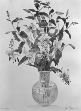 Brooklyn Museum: Pink Lillies
