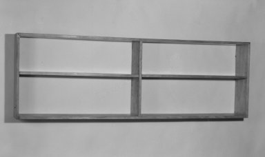 Marcel Breuer. Bookshelf, 1938. Birch plywood and solid wood, 24 x 71 7/8 x 7 7/8 in. (61 x 182.6 x 20 cm). Brooklyn Museum, Gift of Bryn Mawr College, 83.1.3. Creative Commons-BY