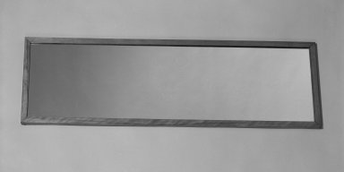 Marcel Breuer. Mirror, 1938. Birch plywood and solid wood, 48 1/8 x 15 x 3/4 in. (122.2 x 38.1 x 1.9 cm). Brooklyn Museum, Gift of Bryn Mawr College, 83.1.4. Creative Commons-BY