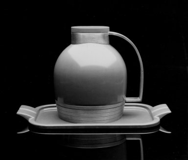 Henry Dreyfuss (American, 1904-1972). Tray,  Match for Thermos Pitcher, ca. 1935. Plastic, 7/8 x 12 1/4 x 7 in. (2.2 x 31.1 x 17.8 cm). Brooklyn Museum, Gift of Paul F. Walter, 83.108.4. Creative Commons-BY
