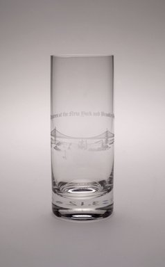 Brooklyn Museum: Highball Glass (Brooklyn Bridge)