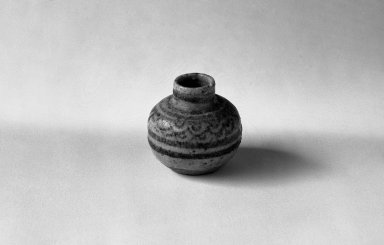Sawankhalok Miniature Jar, 3 of 5, 14th century. Buff stoneware, H: 1 1/2 in. (3.8 cm). Brooklyn Museum, Gift of Dr. Joel Canter, 83.181.5. Creative Commons-BY