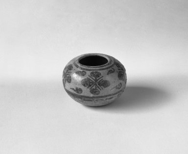 Sawankhalok Miniature Jar, 4 of 5, 14th century. Buff stoneware, H: 1 1/4 in. (3.2 cm). Brooklyn Museum, Gift of Dr. Joel Canter, 83.181.6. Creative Commons-BY