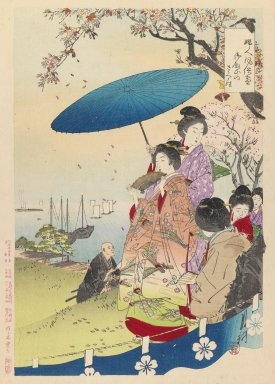 Brooklyn Museum: Geisha in Springtime