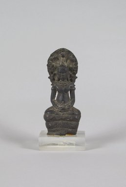 Brooklyn Museum: Buddha Sheltered by Mucalinda
