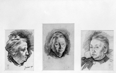Brooklyn Museum: Portrait Study of Madame Monnom