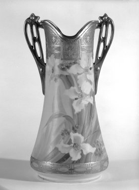 Vase, ca. 1920. Porcelain, Other: 13 1/4 x 7 x 5 in. (33.7 x 17.8 x 12.7 cm). Brooklyn Museum, Gift of Ann Dolan, 84.120. Creative Commons-BY