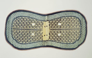 Saddle Rug, late 19th century. Cotton and wool, 53 x 27 in. (134.6 x 68.6 cm). Brooklyn Museum, Bequest of Mrs. Joseph V. McMullan, gift of the Beaupre Charitable Trust in memory of Joseph V. McMullan, 84.140.19. Creative Commons-BY