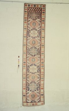 Lankuran Type Runner, 19th century. Wool, 162 x 36 in. (411.5 x 91.4 cm). Brooklyn Museum, Bequest of Mrs. Joseph V. McMullan, gift of the Beaupre Charitable Trust in memory of Joseph V. McMullan, 84.140.8. Creative Commons-BY