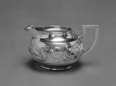 Zeeho. Export Creamer, early 20th century. Silver, 3 1/2 x 6 in. (8.9 x 15.2 cm). Brooklyn Museum, Gift of Stanley J. Love, 84.195.24. Creative Commons-BY