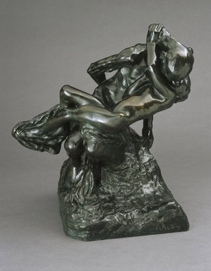 Auguste Rodin (French, 1840-1917). Youth Triumphant (La Jeunesse triomphante), 1896; cast date unknown (after 1898). Bronze, 20 1/2 x 18 x 12 3/4 in. (52.1 x 45.7 x 32.4 cm). Brooklyn Museum, Gift of the Iris and B. Gerald Cantor Foundation, 84.210.2. Creative Commons-BY