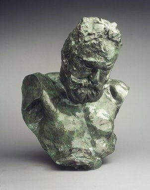Auguste Rodin (French, 1840-1917). Monumental Bust of Victor Hugo, 1902; cast 1970. Bronze, 28 1/2 x 23 3/8 x 21 1/2 in.  (72.4 x 59.4 x 54.6 cm). Brooklyn Museum, Gift of the Iris and B. Gerald Cantor Foundation, 84.210.3. Creative Commons-BY