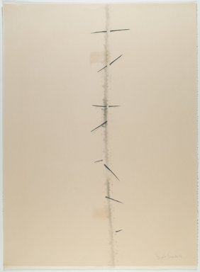 Agustin Fernandez (Cuban, born 1928). Untitled, 1973. Graphite and wash on paper, 30 x 22 in. (76.2 x 55.9 cm). Brooklyn Museum, Gift of Joseph Novak, 84.234.1. © Estate of Agustin Fernandez