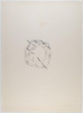 Agustin Fernandez (Cuban, born 1928). Untitled, 1973. Graphite on paper, 30 x 22 in. (76.2 x 55.9 cm). Brooklyn Museum, Gift of Joseph Novak, 84.234.2. © Estate of Agustin Fernandez