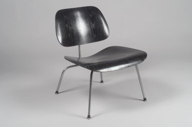 Charles Eames (American, 1907-1978). Lounge Chair, ca. 1946. Plywood, steel, 26 x 21 5/8 x 25 1/8 in. (66 x 54.9 x 63.8 cm). Brooklyn Museum, Gift of Barry Friedman, 84.275.4. Creative Commons-BY