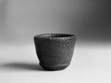 Koyama Fujio (Japanese). Bizen Ware Sake Cup, ca. 1965. Stoneware, 2 x 2 5/8 in. (5.1 x 6.7 cm). Brooklyn Museum, Gift of John M. Lyden, 84.70.1. Creative Commons-BY