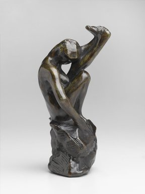 Auguste Rodin (French, 1840-1917). Despair, Known as Despair from the Gates (Le Désespoir dit de la Porte), 1880-1889, cast 1959. Bronze, 7 1/8 x 3 5/8 x 3 1/2 in.  (18.1 x 9.2 x 8.9 cm). Brooklyn Museum, Gift of the Iris and B. Gerald Cantor Foundation, 84.75.2. Creative Commons-BY