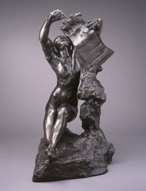 Auguste Rodin (French, 1840-1917). Orpheus (Orphée), 1908, cast 1980. Bronze, 57 1/2 x 30 x 49 1/4 in.  (146.1 x 76.2 x 125.1 cm). Brooklyn Museum, Gift of the Iris and B. Gerald Cantor Foundation, 84.75.3. Creative Commons-BY