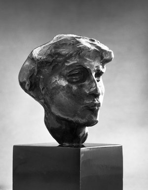 Brooklyn Museum: Head of Mournful Spirit