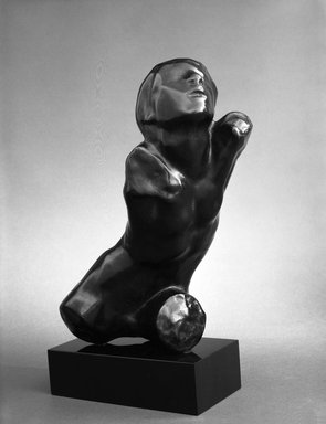Auguste Rodin (French, 1840-1917). Ugolino, Torso of a Child (Ugolin, Torse d'un enfant), model date unknown; cast 1980. Bronze, 9 1/2 x 6 7/8 x 5 1/2 in.  (24.1 x 17.5 x 14.0 cm). Brooklyn Museum, Gift of B. Gerald Cantor Collection, 84.76. Creative Commons-BY