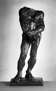 Auguste Rodin (French, 1840-1917). Balzac, Second Study for Nude F (Balzac, deuxième étude pour le Nu F), 1896; cast 1979. Bronze, 37 x 16 x 15 1/2 in.  (94 x 40.6 x 39.4 cm). Brooklyn Museum, Gift of Iris and B. Gerald Cantor, 84.77.10. Creative Commons-BY