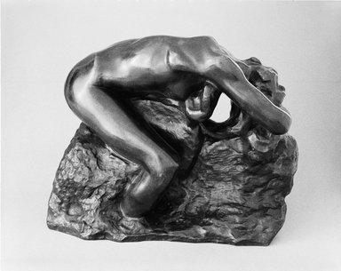Auguste Rodin (French, 1840-1917). Andromeda (Andromède), 1887; cast 1979. Bronze, 10 3/8 x 12 5/8 x 7 5/8 in. (26.4 x 32.1 x 19.4 cm). Brooklyn Museum, Gift of Iris and B. Gerald Cantor, 84.77.1. Creative Commons-BY