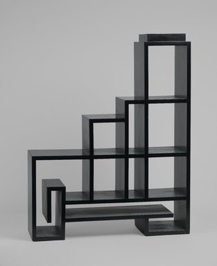 "Paul T. Frankl (American, born Austria, 1887-1958). ""Skyscraper"" Step Table, late 1920s. Painted wood, 38 3/4 x 30 1/2 x 9 in. (98.4 x 77.5 x 22.9 cm). Brooklyn Museum, Designated Purchase Fund, 85.163.5. Creative Commons-BY"
