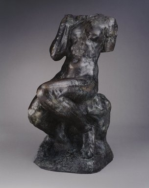 Auguste Rodin (French, 1840-1917). Cybele, large model (Cybèle, grand modèle), 1905; cast 1981. Bronze, 64 3/8 x 30 1/4 x 46 5/8 in., 637 lb. (163.5 x 76.8 x 118.4 cm). Brooklyn Museum, Gift of Iris and B. Gerald Cantor, 85.172. Creative Commons-BY